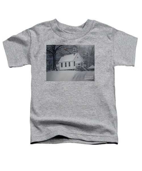 Gates Chapel - Ellijay - Signed By Artist Toddler T-Shirt
