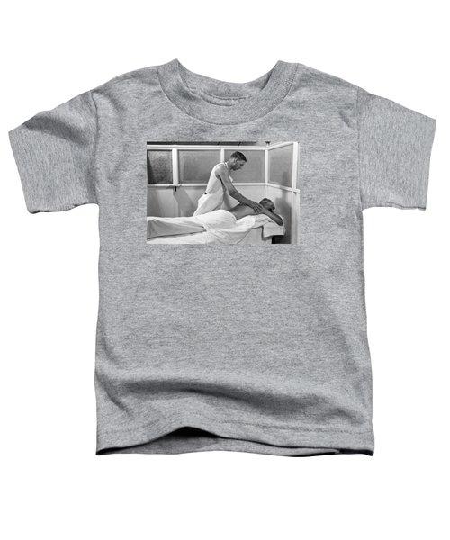 Getting A Massage At Sanitarium Toddler T-Shirt