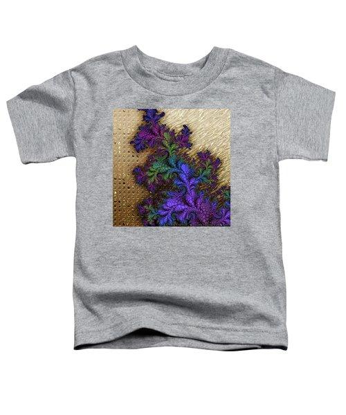 Gilded Fractal 12  Toddler T-Shirt