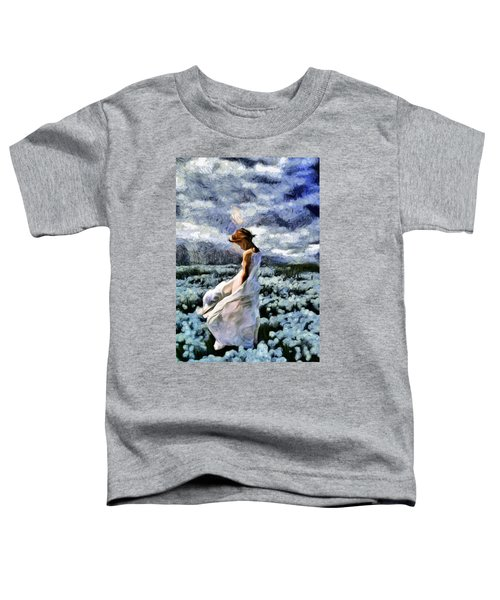 Girl In A Cotton Field Toddler T-Shirt