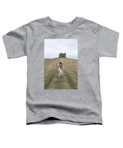 Girl Walks To A Chapel Toddler T-Shirt
