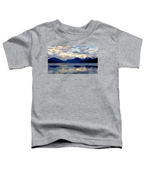 Glacier Morning Toddler T-Shirt