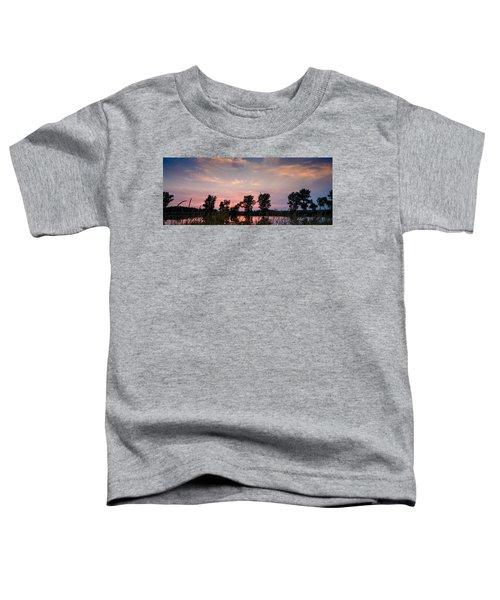 Goose Lake Prairie Sunset Toddler T-Shirt