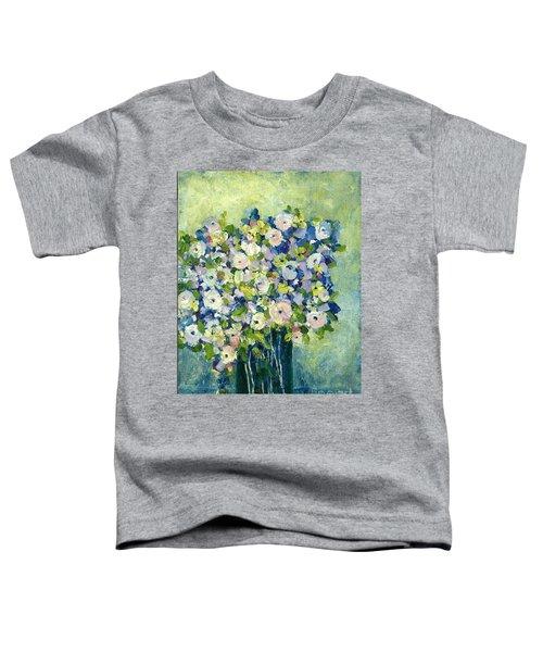Grandma's Flowers Toddler T-Shirt