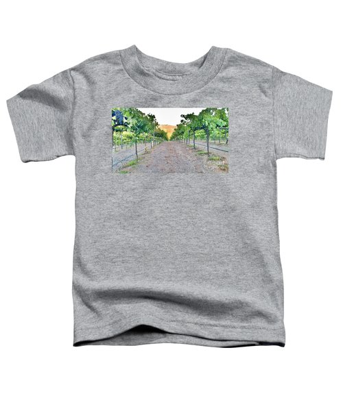 Grape Vines Toddler T-Shirt