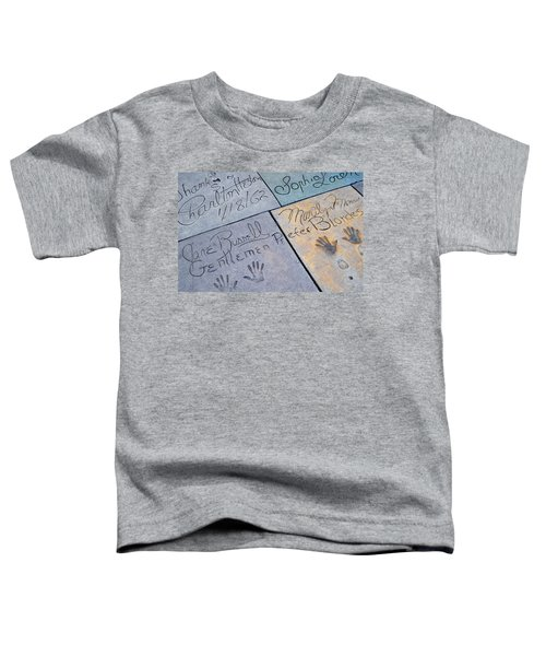 Grauman's Chinese Theatre Marilyn Monroe Toddler T-Shirt