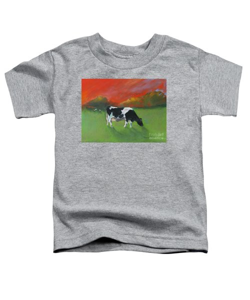 Grazing Cow Toddler T-Shirt