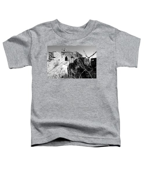 Great Wall Ruins Toddler T-Shirt