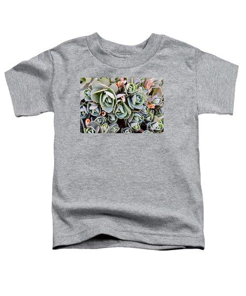 Green Abstract Toddler T-Shirt