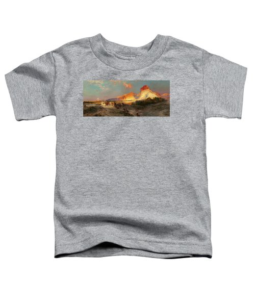 Green River Cliffs Wyoming Toddler T-Shirt