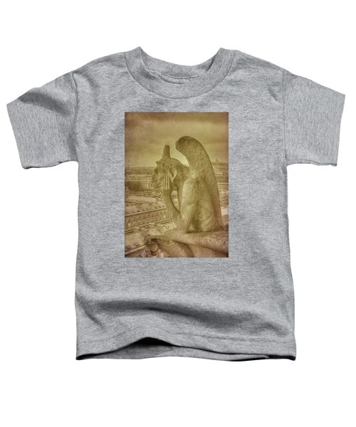 Grotesque From Notre Dame Toddler T-Shirt