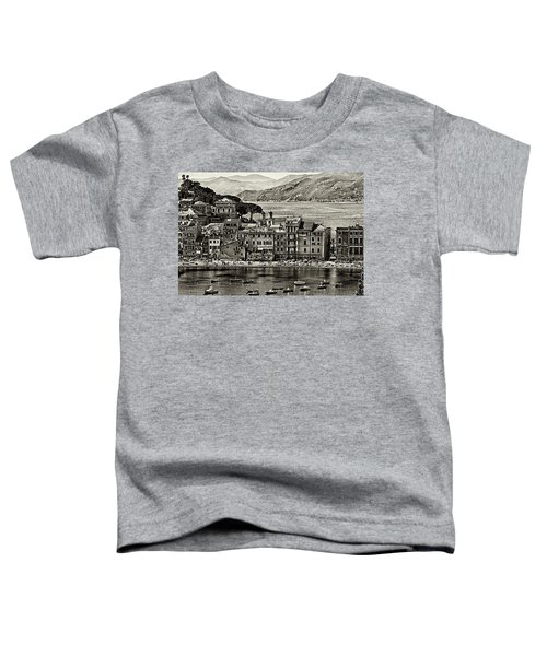 Grunge Seascape Toddler T-Shirt