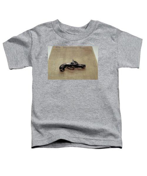 Gun Used By John Wilkes Booth Toddler T-Shirt