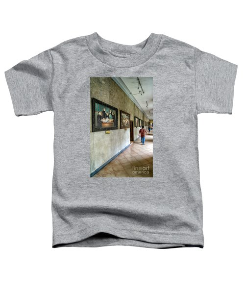 Hallway Of Paintings Toddler T-Shirt