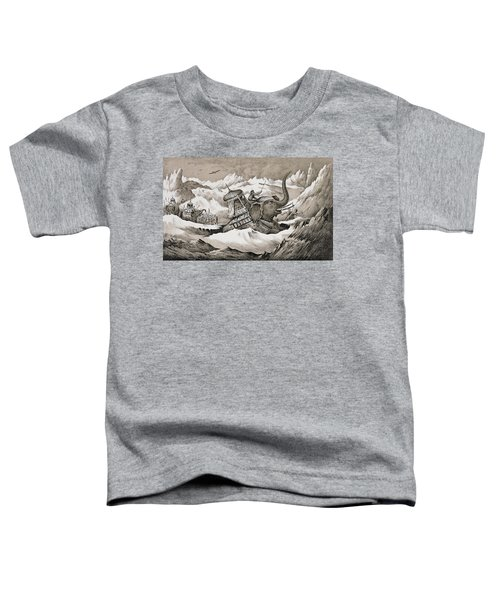 Hannibal And His War Elephants Crossing Toddler T-Shirt
