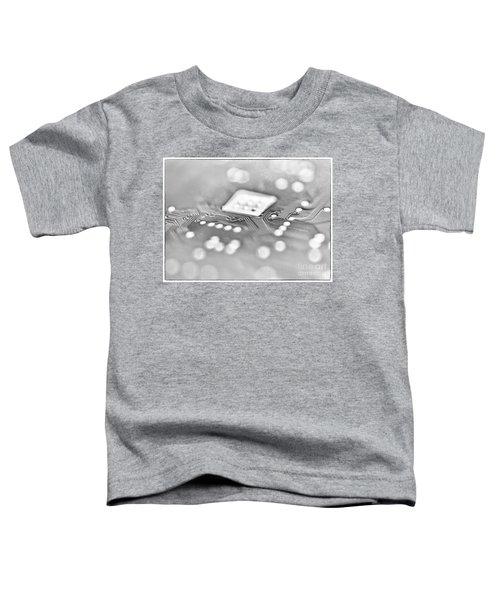 Hartddrive High Key Black And White Toddler T-Shirt