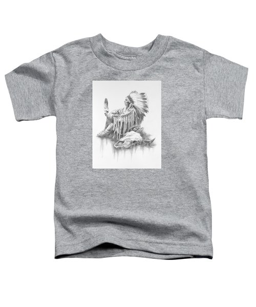 He Who Seeks A Vision Toddler T-Shirt
