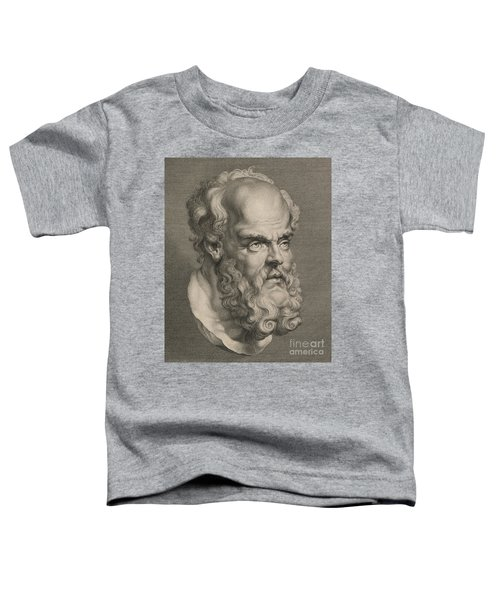 Head Of Socrates Toddler T-Shirt