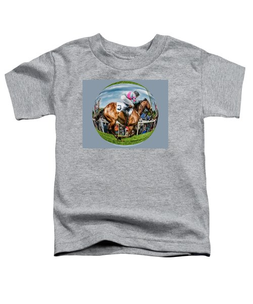 Here We Go Round In Circles Toddler T-Shirt