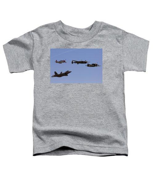 Heritage Flight Of Four Toddler T-Shirt