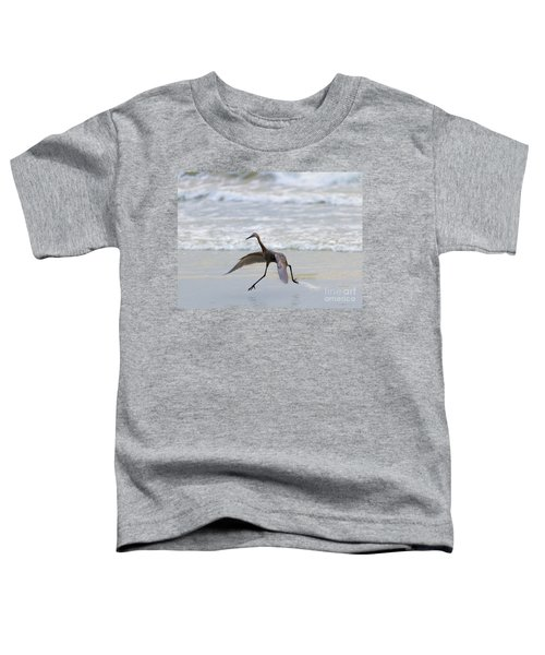 Heron Ballet Toddler T-Shirt