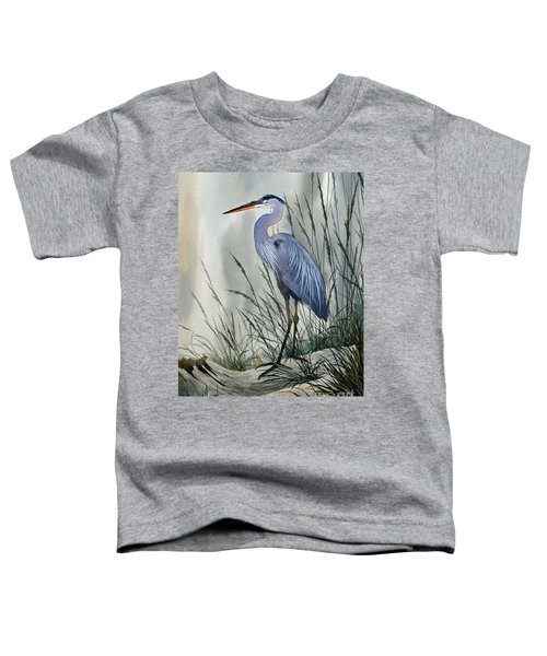 Herons Sheltered Retreat Toddler T-Shirt