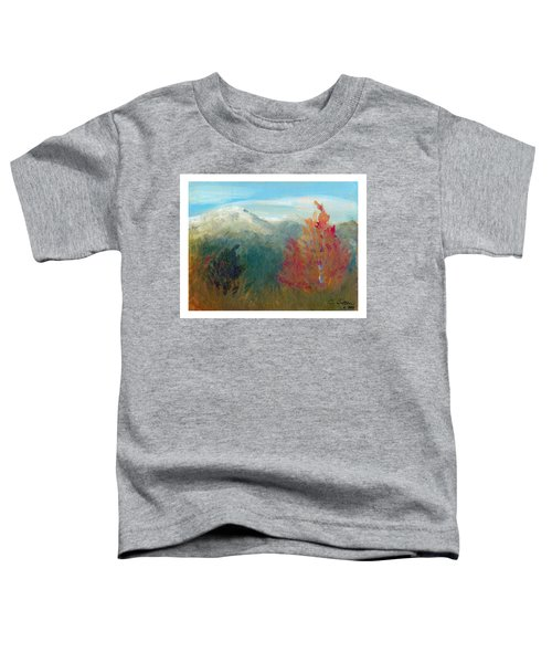 High Country View Toddler T-Shirt