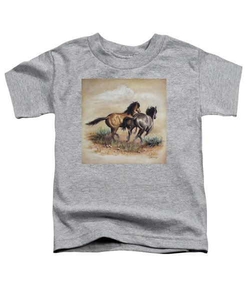 High Tailin' It Toddler T-Shirt