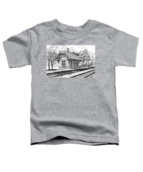 Highlands Train Station Toddler T-Shirt
