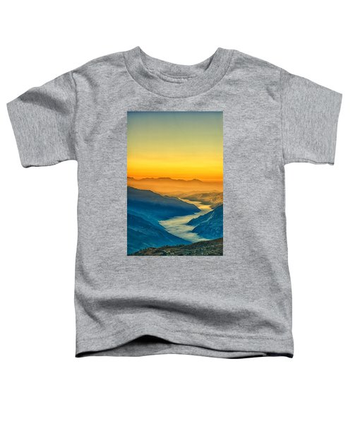 Himalaya In The Morning Light Toddler T-Shirt