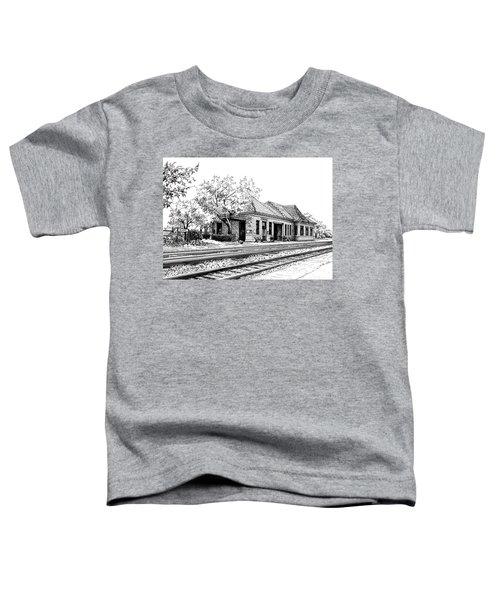 Hinsdale Train Station Toddler T-Shirt