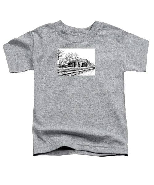 Hinsdale Train Station Toddler T-Shirt