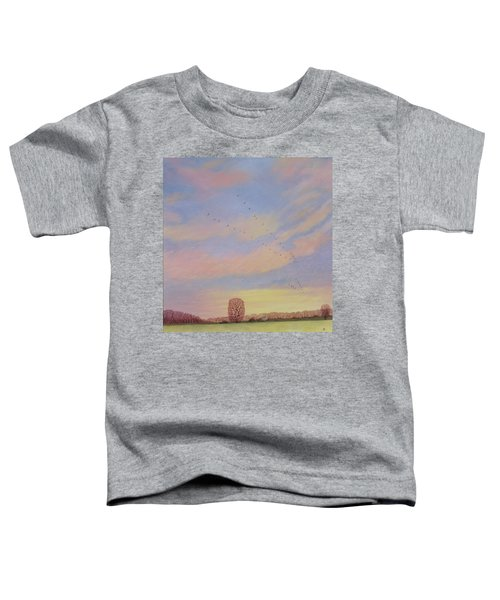 Homeward, 2004 Oil On Canvas Toddler T-Shirt by Ann Brain