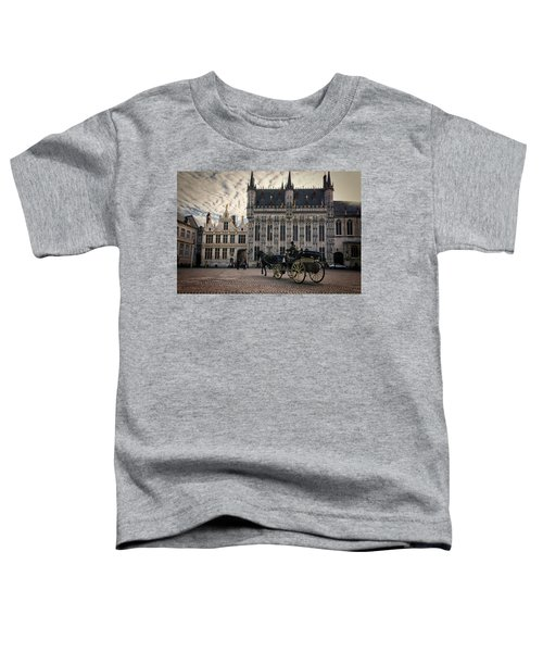 Horse And Carriage Toddler T-Shirt