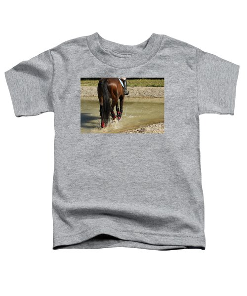 Horse In Water Toddler T-Shirt
