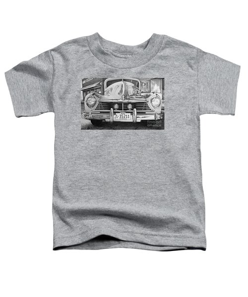 Hudson Dreams In Black And White Toddler T-Shirt