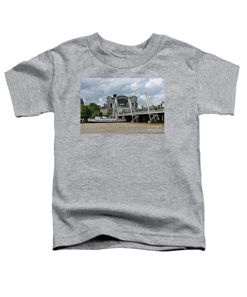 Hungerford Bridge And Charing Cross Toddler T-Shirt