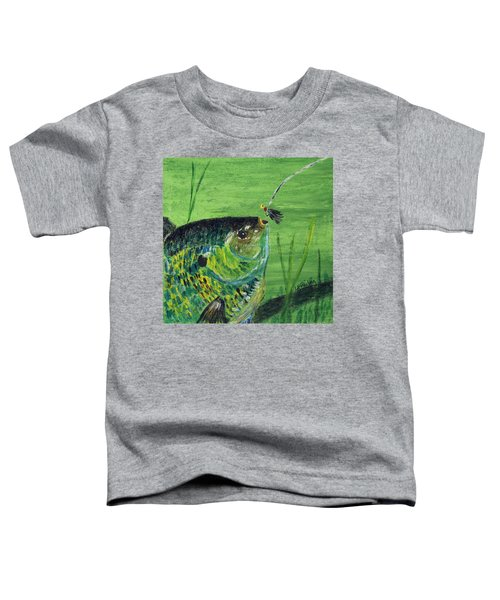 Hungry Bluegill Toddler T-Shirt