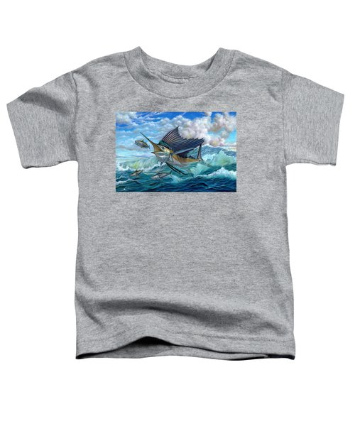Hunting Sail Toddler T-Shirt
