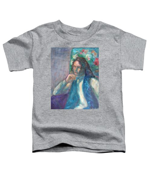 I Am Heathcliff - Original Painting  Toddler T-Shirt