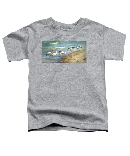 Ibis On Marco Island Toddler T-Shirt