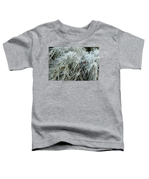 Ice On Bamboo Leaves Toddler T-Shirt