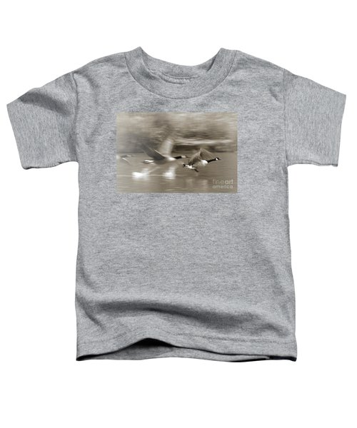 In A Blur Of Feathers Toddler T-Shirt
