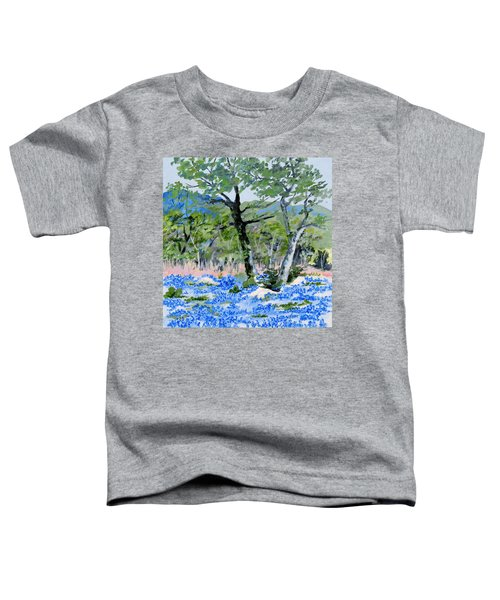In April-texas Bluebonnets Toddler T-Shirt