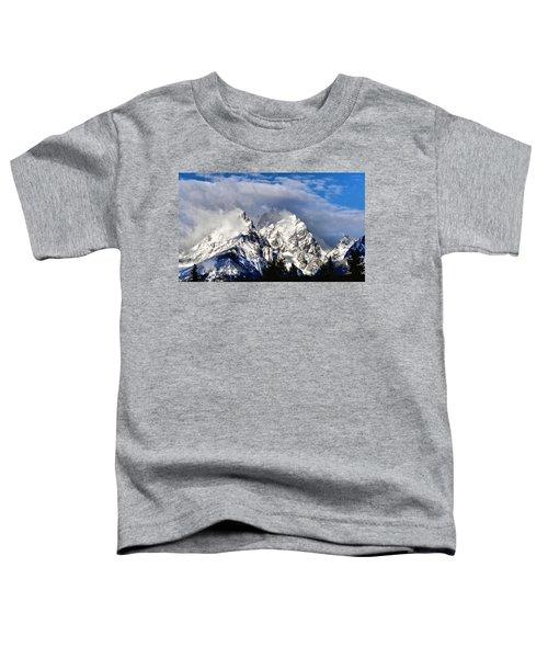 The Teton Range Toddler T-Shirt