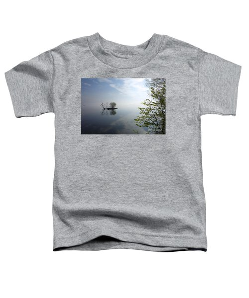 In The Distance On Mille Lacs Lake In Garrison Minnesota Toddler T-Shirt