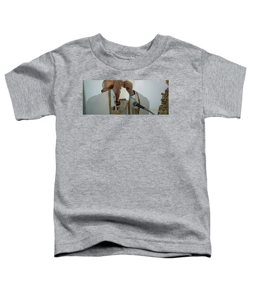 Toddler T-Shirt featuring the photograph Inauguration Pope Francis Vatican  Rom 19 February 2013  by Colette V Hera  Guggenheim