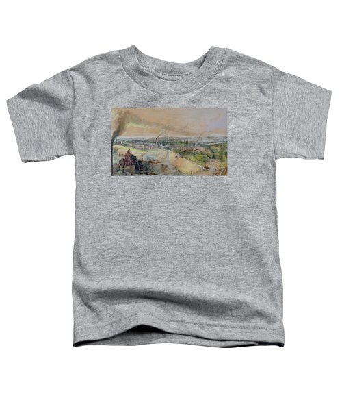 Industrial Landscape In The Blanzy Coal Field Toddler T-Shirt