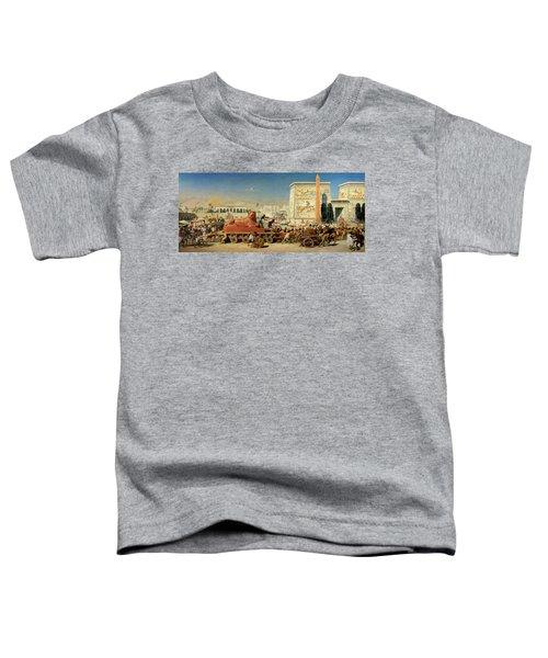 Israel In Egypt, 1867 Toddler T-Shirt
