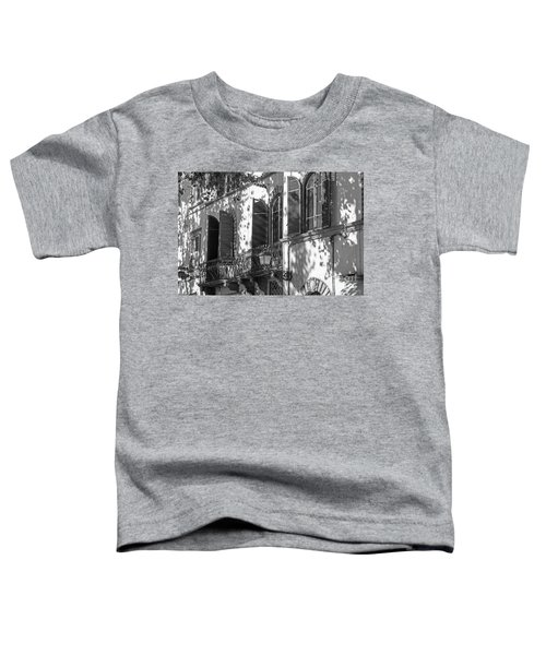 Italian Facade In Bw Toddler T-Shirt